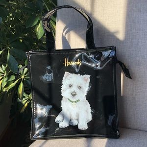 Handbags - Harrods Logo Westie Shopper Tote Bag